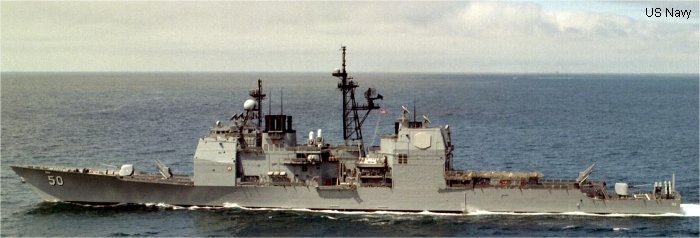Guided-Missile Cruiser Ticonderoga class