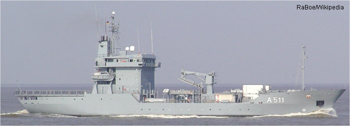 Support Ship 404 Elbe class
