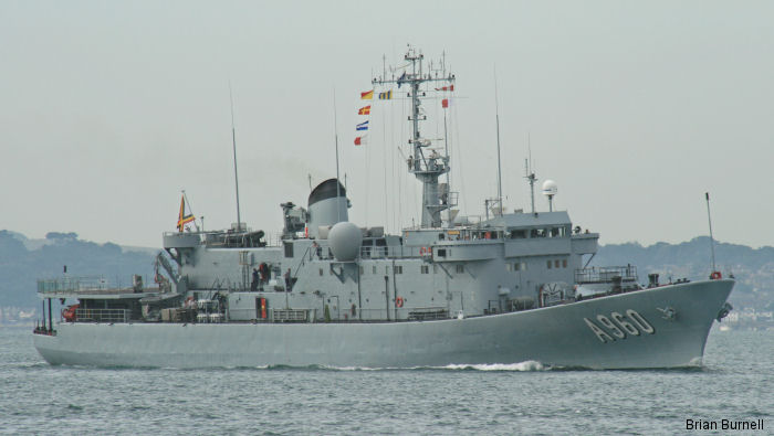 Support Ship Godetia class