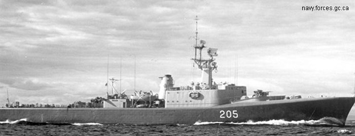 Destroyer St. Laurent class