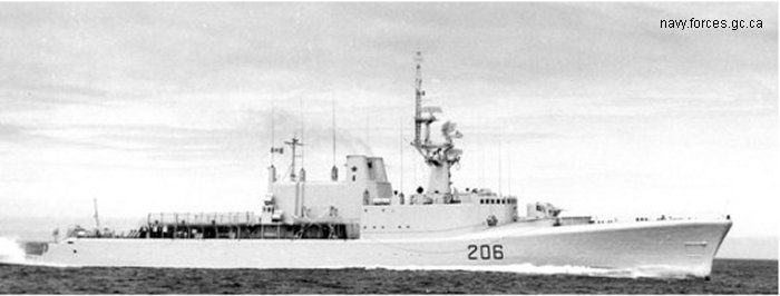 Destroyer St. Laurent DDH class