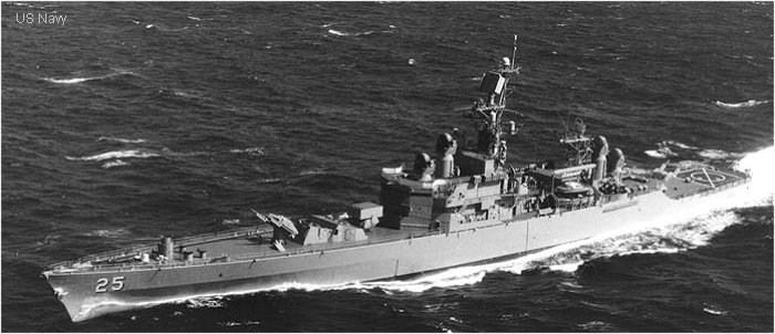 Guided-Missile Cruiser (Nuclear Powered) Bainbridge class