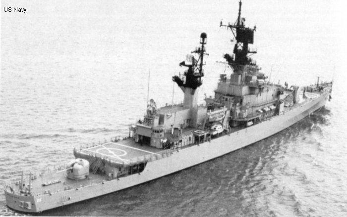 Guided-Missile Cruiser Belknap class