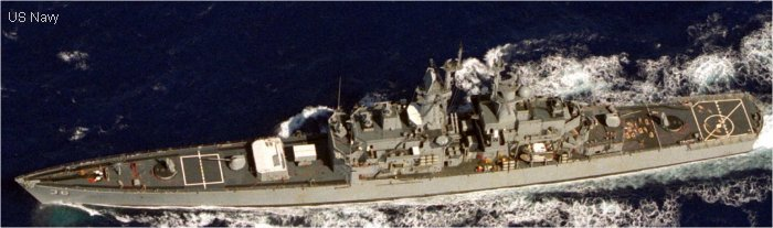 Guided-Missile Cruiser (Nuclear Powered) California class