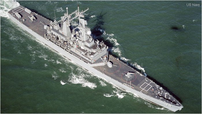 Guided-Missile Cruiser (Nuclear Powered) Virginia class