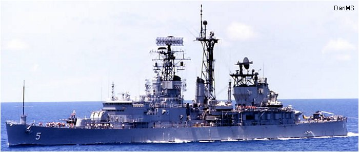 Guided-Missile Cruiser Galveston class