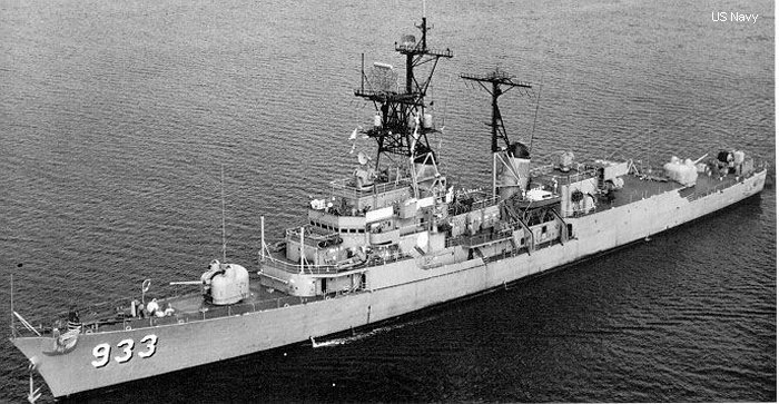 Destroyer Forrest Sherman class