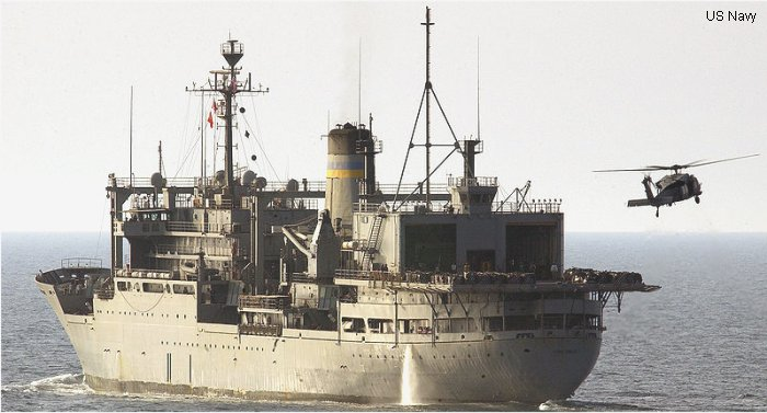 Support Ship Sirius class