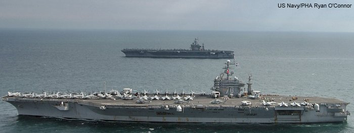 Aircraft Carrier (Nuclear Powered) Nimitz class