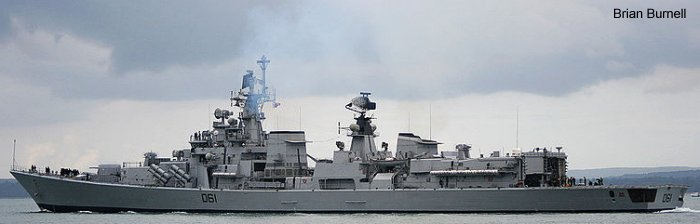 Guided-Missile Destroyer Delhi class