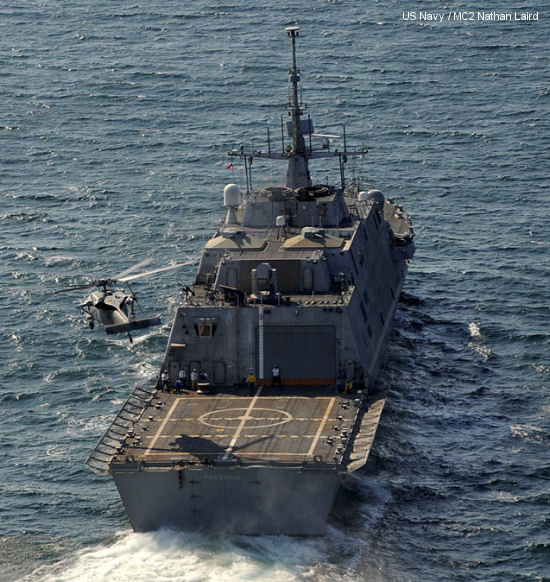 LCS-1 USS Freedom