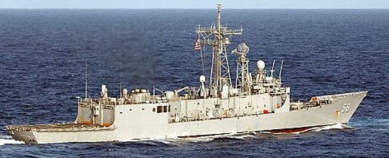Guided-Missile Frigate Oliver Hazard Perry long-hull class