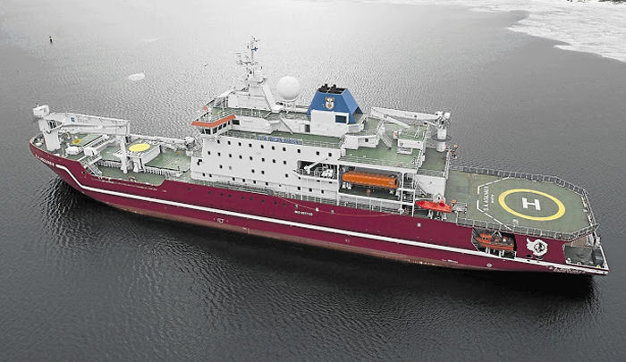 Icebreakers Agulhas (2012) class