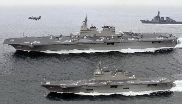 Helicopter Carrier Izumo class