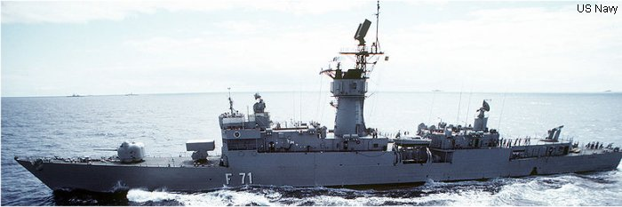 Guided-Missile Frigate Baleares class