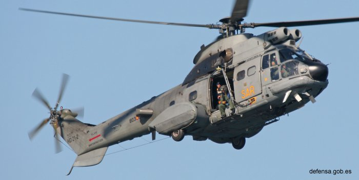 Ejercito del Aire AS332 Super Puma