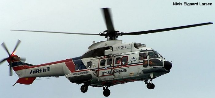 Aerospatiale AS332L1 Super Puma c/n 2351