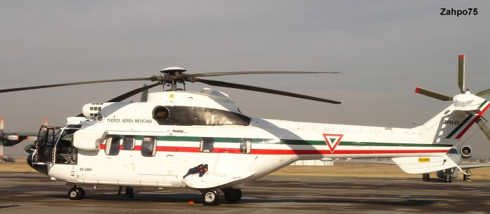 Fuerza Aerea Mexicana AS332 Super Puma