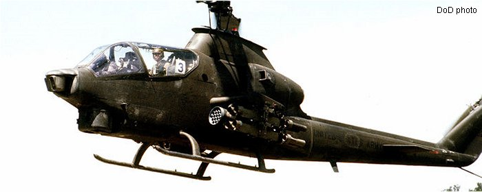 US Army Aviation 209 AH-1 Cobra