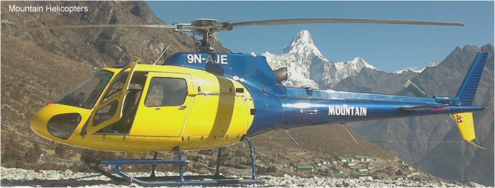 Mountain Helicopters Nepal AS350 Ecureuil