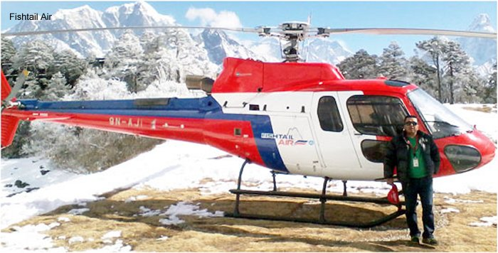 Summit Helicopters AS350 Ecureuil