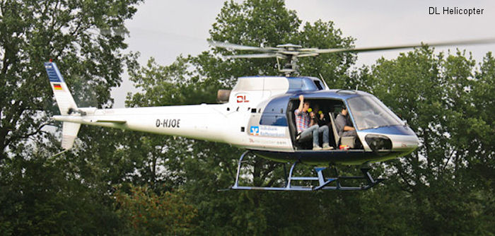 Eurocopter AS350BA Ecureuil c/n 9013