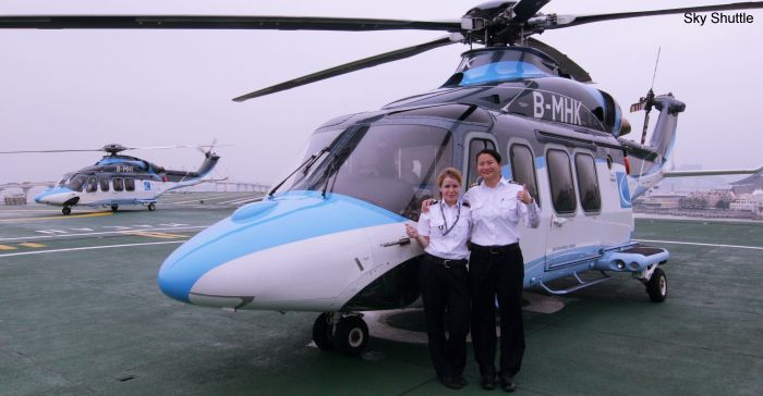 Sky Shuttle Helicopters AW139