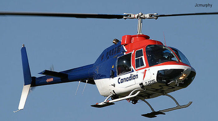 Canadian Helicopters Ltd 206