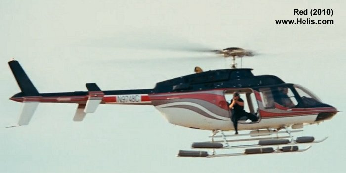 Helicopter Bell 206L Long Ranger Serial unknown Register N9748C. Aircraft history and location