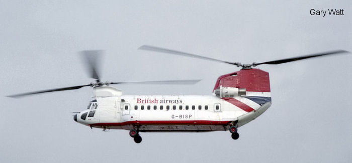 British Airways Helicopters 234LR