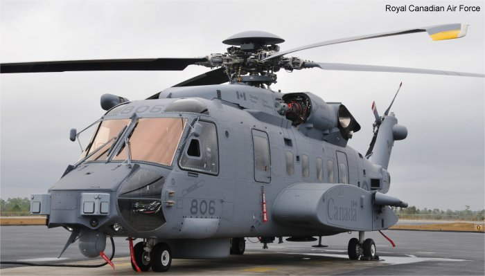 Photos of CH-148 Cyclone in Canadian Armed Forces helicopter service.