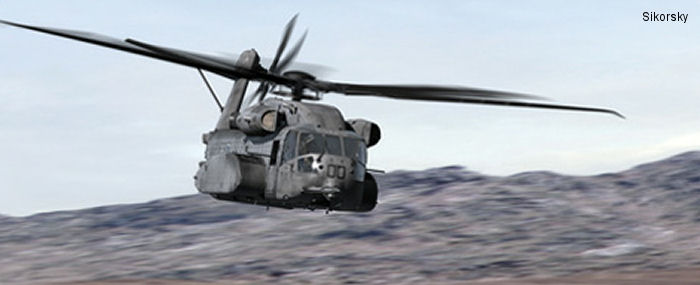 US Marine Corps CH-53K King Stallion