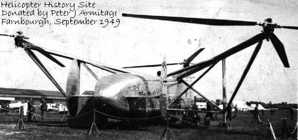 Cierva Weir  W11 Helicopters 1945/1950