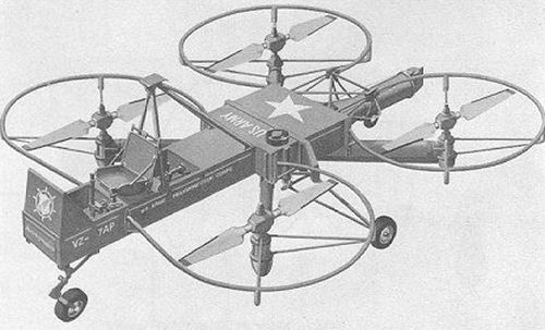 Curtiss - Wright aerial jeep Helicopters 1950s