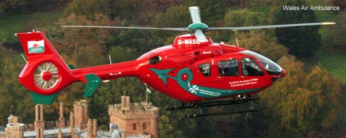 Wales Air Ambulance UK Air Ambulances