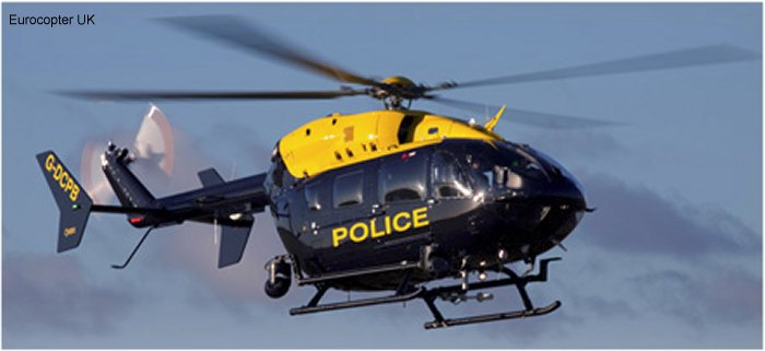 UK Police Forces EC145