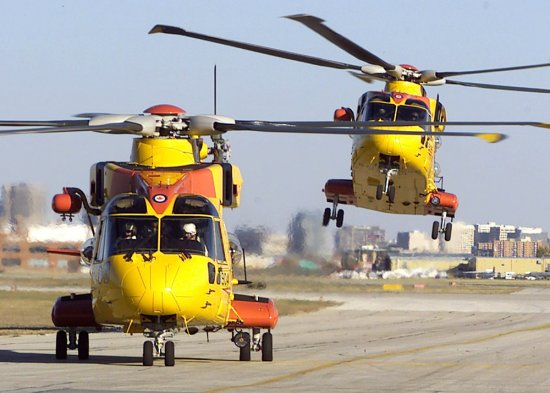 Canadian helicopter rescue CH-149 Cormorant
