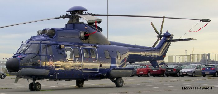 Eurocopter AS332L1 Super Puma c/n 2705