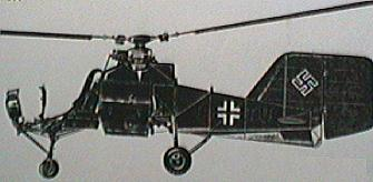 WWII helicopter FL282