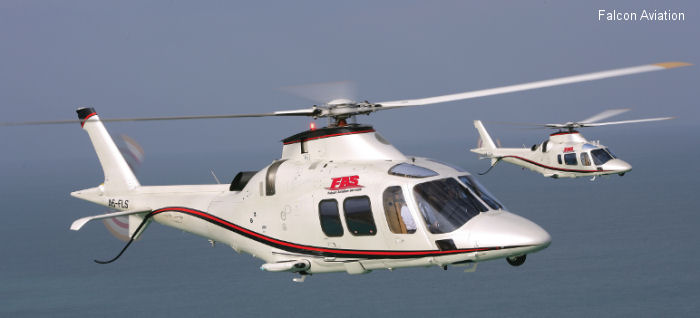 Falcon Aviation Services AW109S Grand