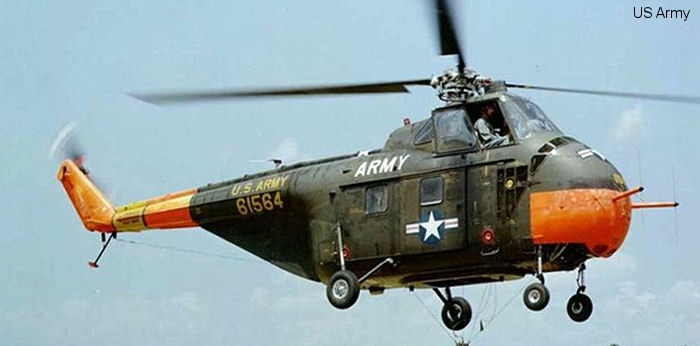 US Army Aviation S-55 H-19