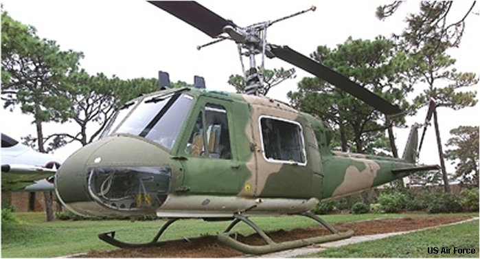 Bell UH-1F Iroquois c/n 7043
