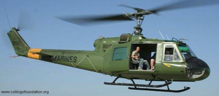 153762 N911KK Bell UH-1E Iroquois C/N 6128