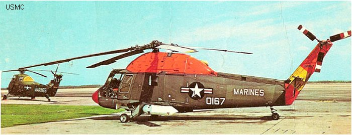Helicopter Kaman UH-2B Serial 117 Register 150167 used by US Navy (United States Naval Aviation) US Marine Corps. Aircraft history and location