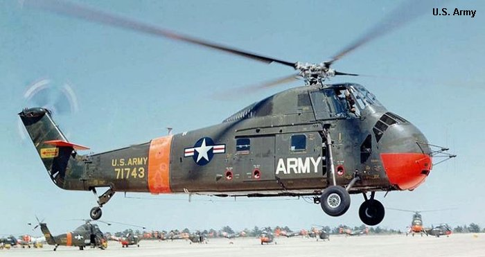 US Army Aviation S-58 H-34