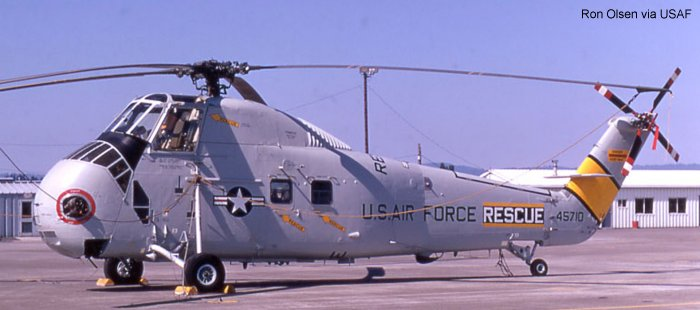 US Air Force S-58 H-34