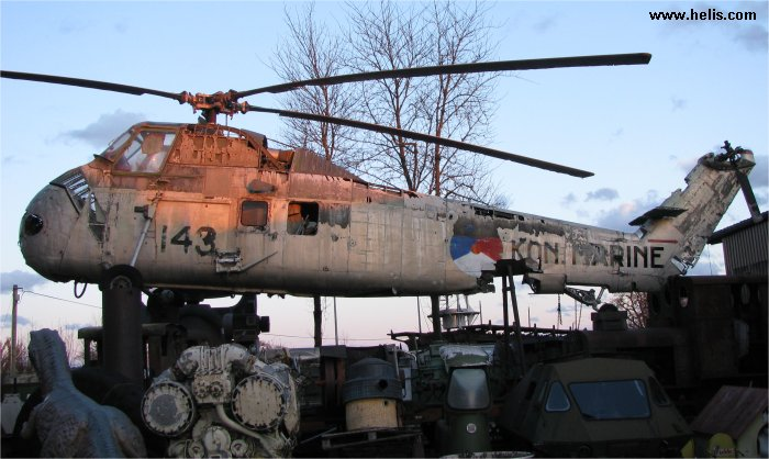 143 Sikorsky Hss 1n Sh 34j Seabat C N 58 1153