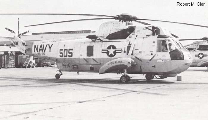 Helicopter Sikorsky HSS-2 Sea King Serial 61-211 Register 149934 used by US Navy (United States Naval Aviation). Aircraft history