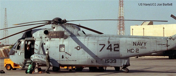 Sikorsky HSS-2 Sea King c/n 61-244