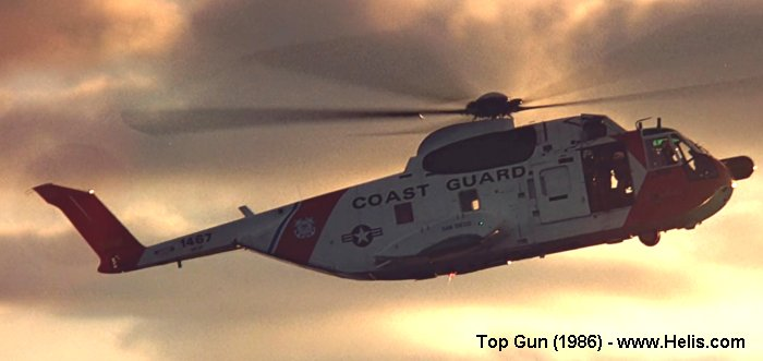 Helicopter Sikorsky HH-3F Pelican Serial 61-629 Register 1467 used by US Coast Guard. Aircraft history and location